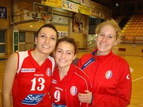 Valeria Lungo, Tiziana Mancini & Federica Montanaro-Pallavolo Minturno